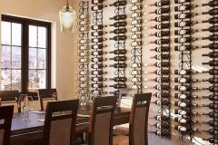 Decoração com Garrafas de Vinho
