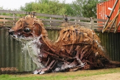 Obra de Arte com Lixo