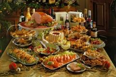 Mesa para a Ceia de Natal