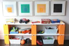 Móveis e Paredes de Lego