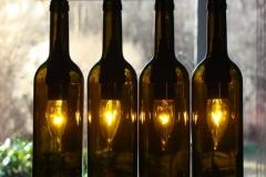 Lustre de Garrafa de Vinho