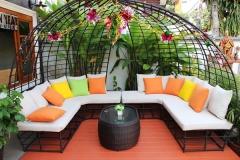 Sala de Estar no Jardim